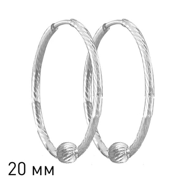 Купить Серебряные серьги 94140037, SOKOLOV