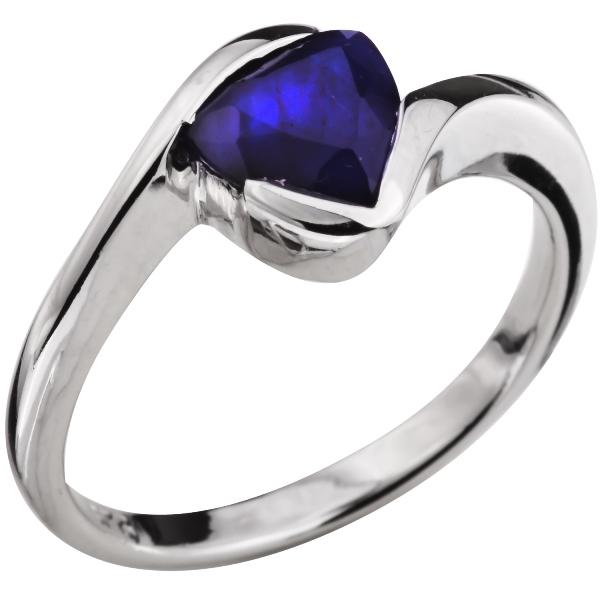 Купить Серебряное кольцо Sandara с сапфиром ANR1294, Sandara сапфиры