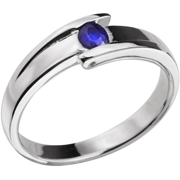 Купить Серебряное кольцо Sandara с сапфиром ANR1867, Sandara сапфиры