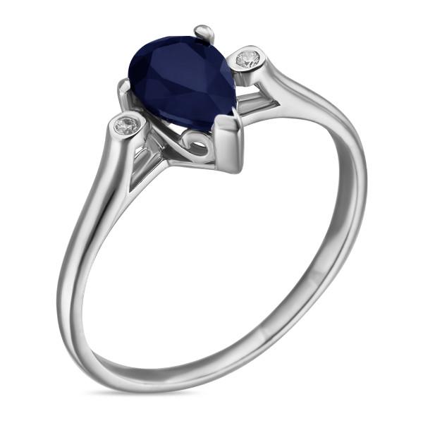 Купить Серебряное кольцо Sandara с сапфиром ANR3118, Sandara сапфиры