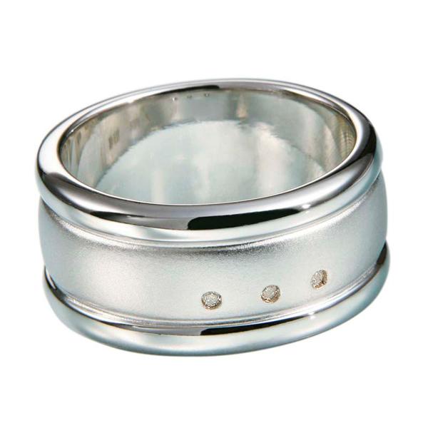 Купить со скидкой Мужское серебряное кольцо Hot Diamonds с бриллиантами MR002