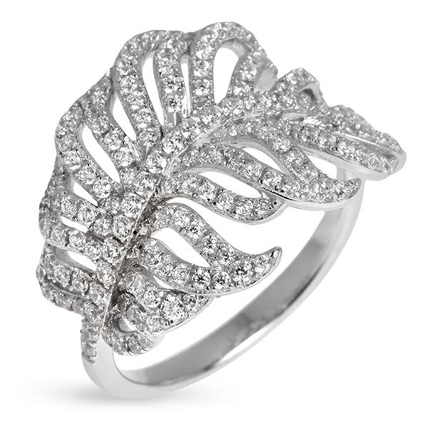 Купить Серебряное кольцо Sandara Ice с фианитами PJR246
