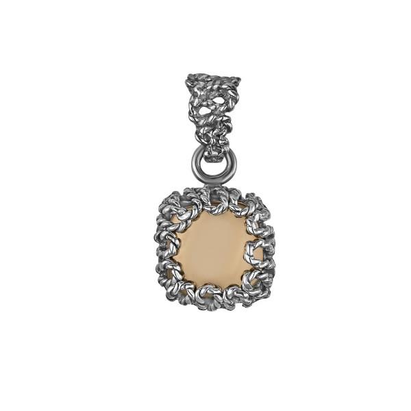 Купить Серебряный кулон Yaffo с золотом SAP868