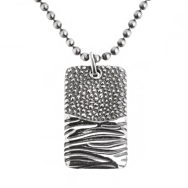 Купить Мужской серебряный кулон WPP002