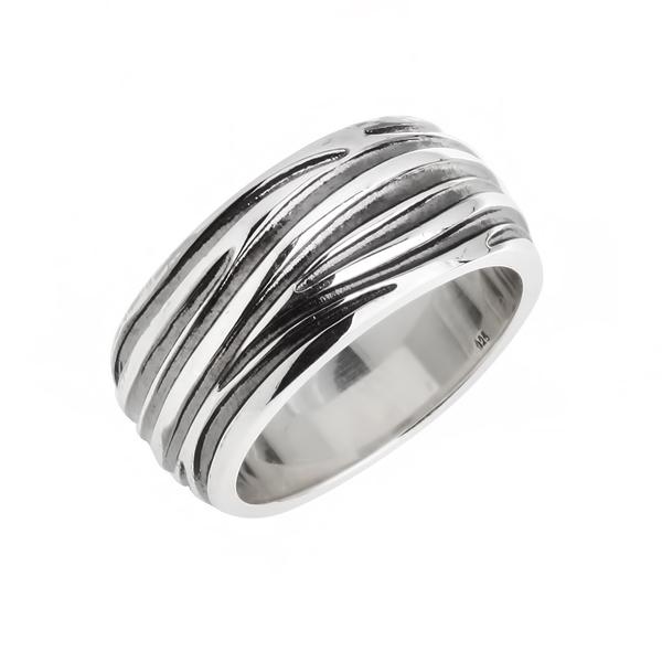 Купить со скидкой Мужское серебряное кольцо WPR004