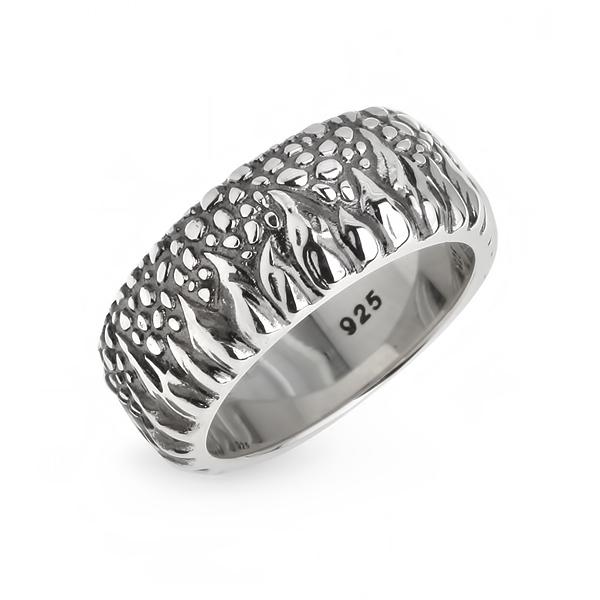 Купить со скидкой Мужское серебряное кольцо WPR006