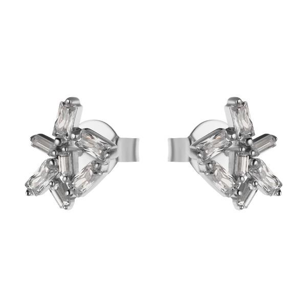 Купить Серебряные серьги Sandara Ice с фианитом XCE032
