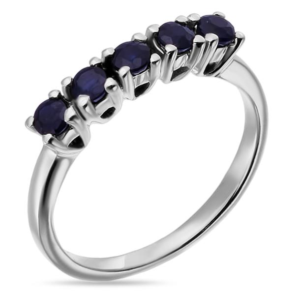 Купить Серебряное кольцо Sandara с сапфирами и фианитами ANR2645, Sandara сапфиры