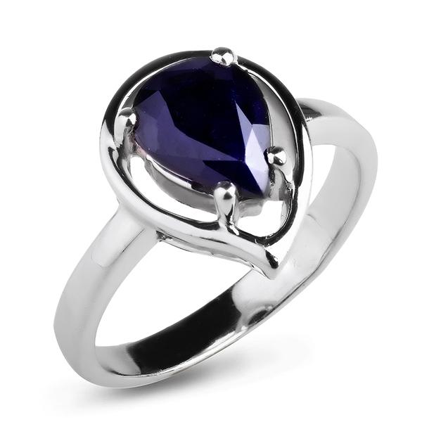 Купить Серебряное кольцо Sandara с сапфиром ANR3108