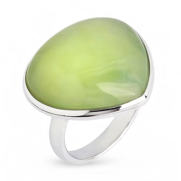 Купить Серебряное кольцо Sandara с жадеитом CGR036
