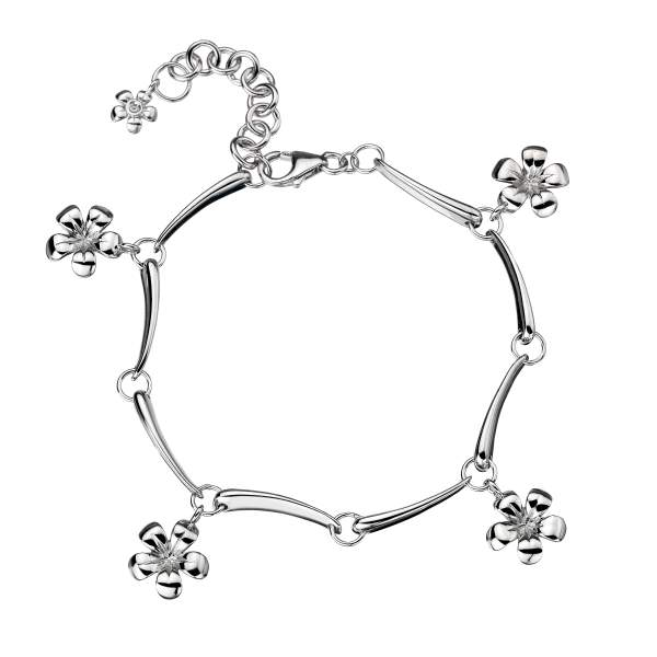 Купить со скидкой Серебряный браслет Hot Diamonds с бриллиантами DL152