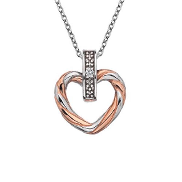 Купить Серебряный кулон Hot Diamonds с бриллиантом DP675