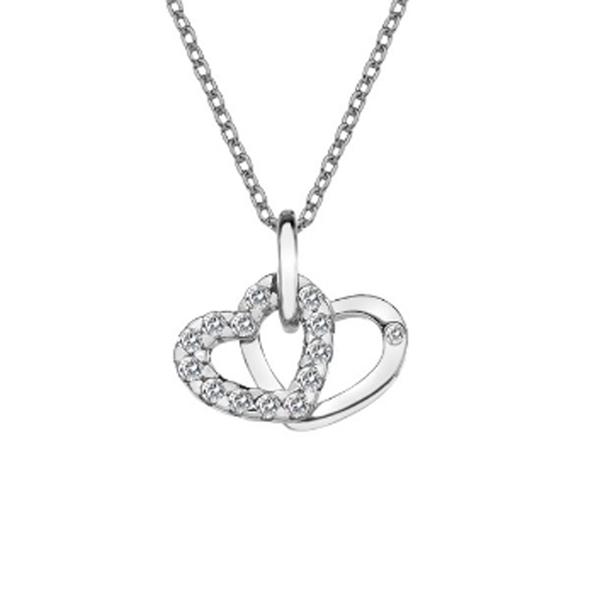 Купить Серебряный кулон Hot Diamonds с бриллиантом DP682