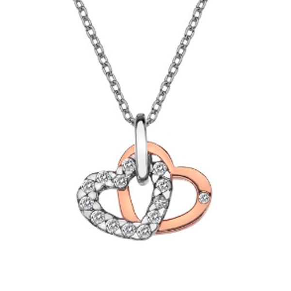 Купить Серебряный кулон Hot Diamonds с бриллиантом DP683