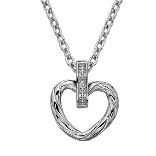 Купить Серебряный кулон Hot Diamonds с бриллиантом DP689