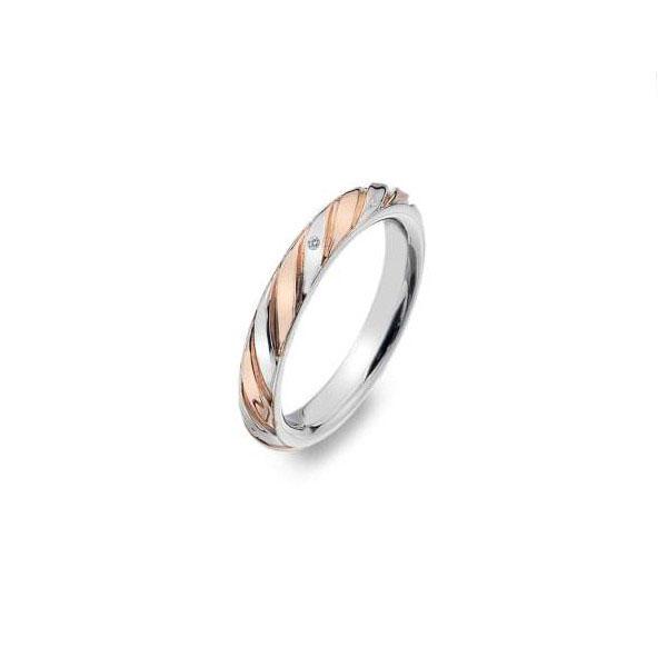Купить Серебряное кольцо Hot Diamonds с бриллиантом и позолотой DR177