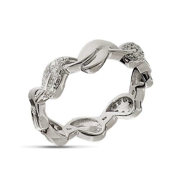Серебряное кольцо Sandara Ice с фианитом EDR137  - купить со скидкой