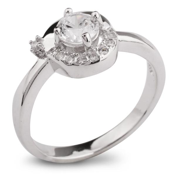Купить со скидкой Серебряное кольцо Sandara Ice с фианитом IMR0009
