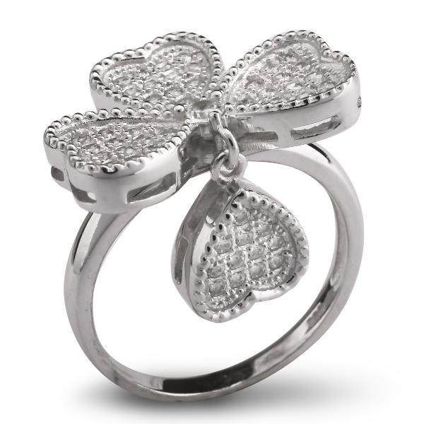 Купить со скидкой Серебряное кольцо Sandara Ice с фианитами IMR0018