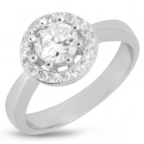 Купить со скидкой Серебряное кольцо Sandara с фианитами IMR9134