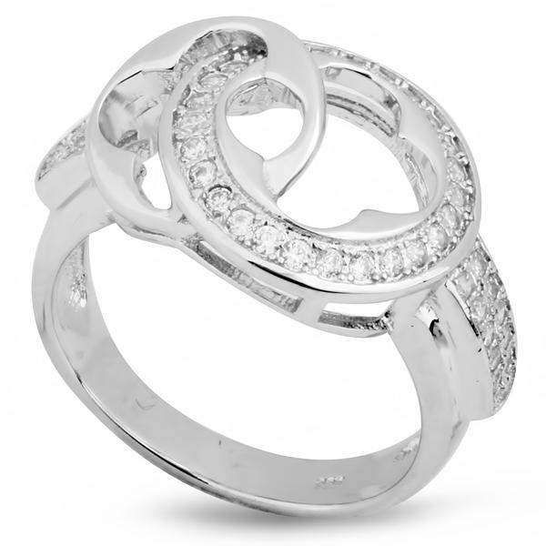 Купить со скидкой Серебряное кольцо Sandara с фианитами IMR9138