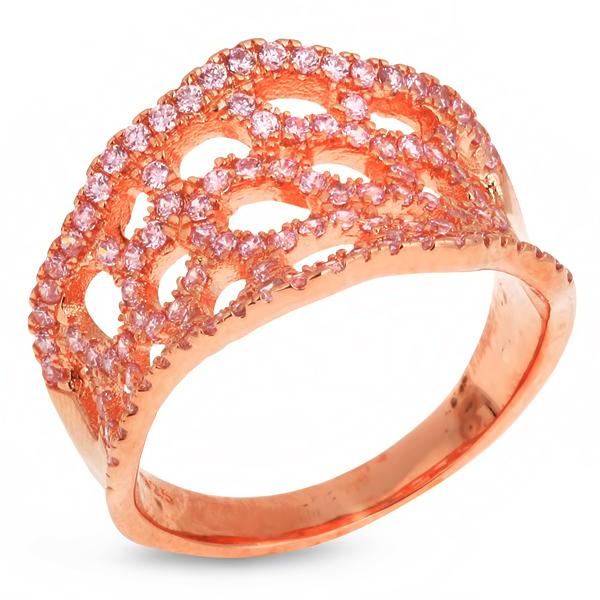 Купить со скидкой Серебряное кольцо Sandara с фианитами IMR9144