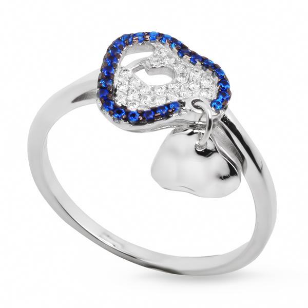 Купить со скидкой Серебряное кольцо Sandara с фианитами IMR9156W