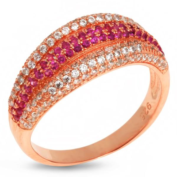 Купить со скидкой Серебряное кольцо Sandara с фианитами IMR9163