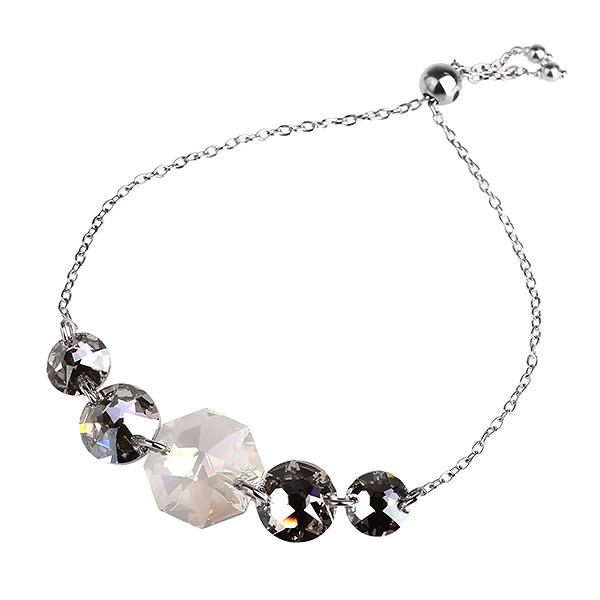 Купить со скидкой Серебряный браслет Monella с кристаллами Сваровски MOB360