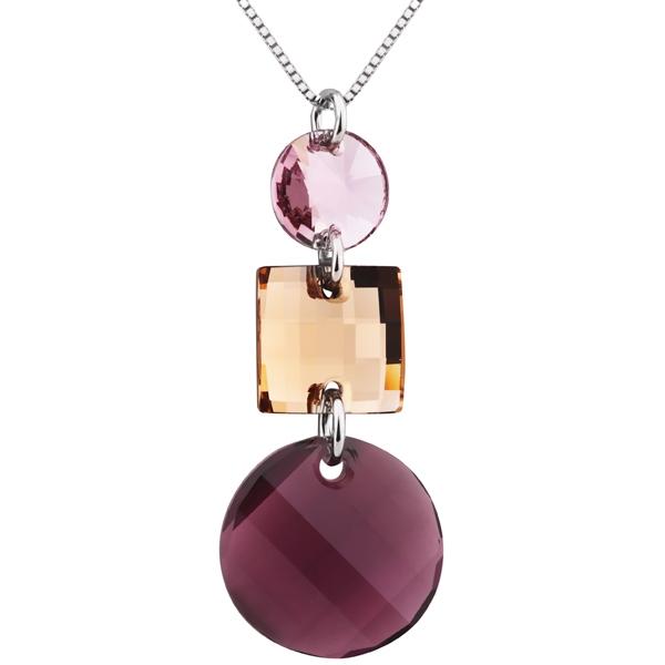 Купить Серебряный кулон Monella с кристаллами Сваровски MOP0727