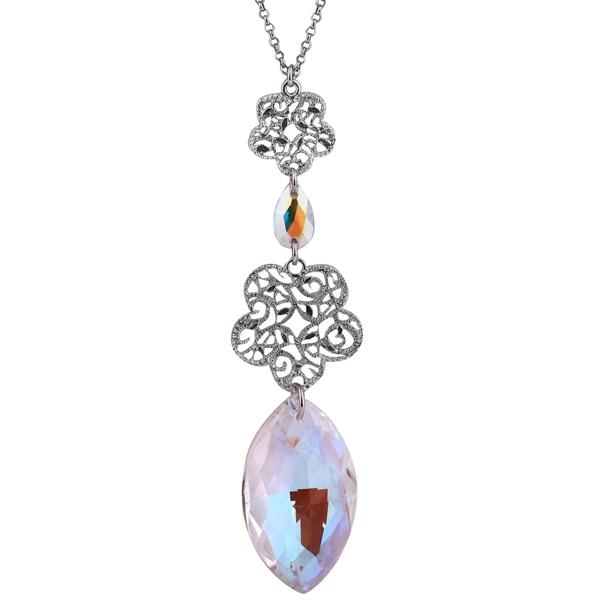 Купить Серебряный кулон Monella с кристаллами Сваровски MOP0849