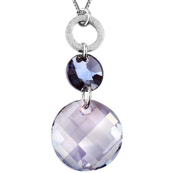 Купить Серебряный кулон Monella с кристаллами Сваровски MOP0882
