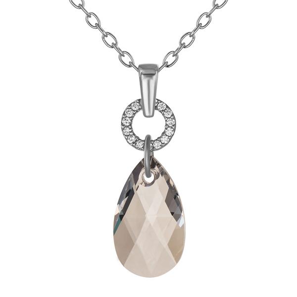 Купить Серебряный кулон Monella с кристаллами Сваровски MOP258