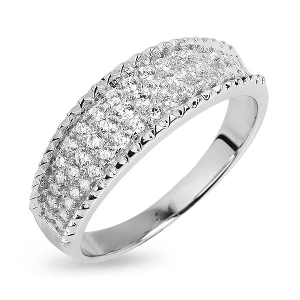 Купить со скидкой Серебряное кольцо Sandara Ice с фианитами PJR048